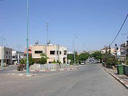 Buqata entry road.jpg