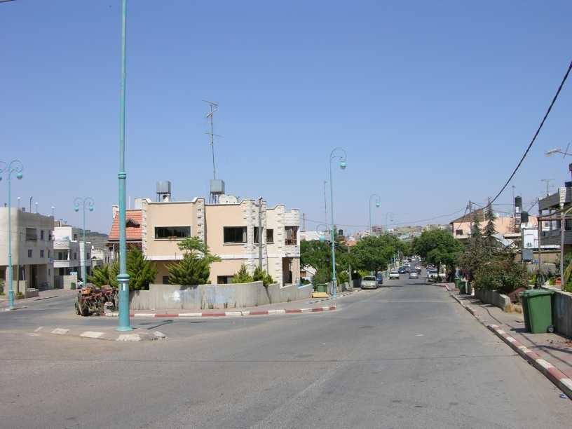 Buqata entry road
