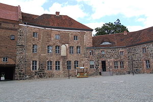Bishopric of Brandenburg - Ziesar Castle, now a museum also showing the history of the Prince-Bishopric of Brandenburg