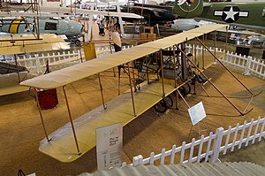 Wright Model B - Burgess Model F replica preserved at Hill Aerospace Museum. The Burgess was a license-built variant of the Model B.