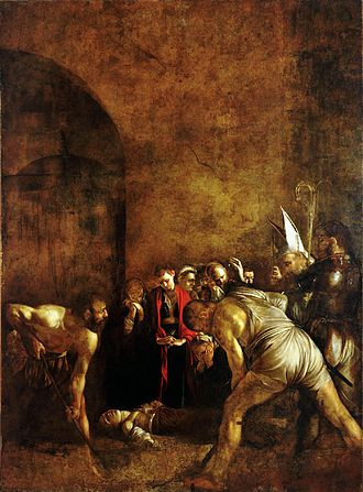 Burial of St. Lucy (Caravaggio) - Image: Burial of Saint Lucy Caravaggio (1608)