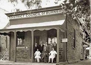 History of Burnside Area in Adelaide, Australia