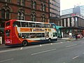 Bus in Portland Street, Manchester (2).jpg