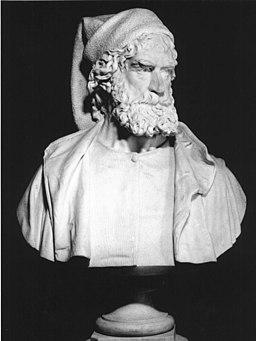 Bust of Giovanni Caboto. Panteon Veneto; Istituto Veneto di Scienze, Lettere ed Arti