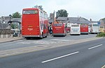 Busy Sunday morning in Brecon bus station - geograph.org.uk - 2433217.jpg