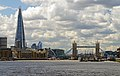 Butler's Wharf, The Shard, City Hall, Tower Bridge, Hermitage Community Moorings - view from The Thames.jpg