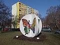 Butterfly sculpture and Pillangó park 4, 2021 Zugló.jpg