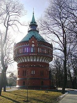 Bydgoszcz, wodociągowa wieża ciśnień