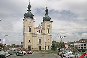 Bystřice nad Pernštejnem - Image: Bystřice nad Pernštejnem kostel