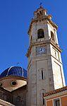 Cúpula i campanar, església de sant Miquel d'Altura.JPG