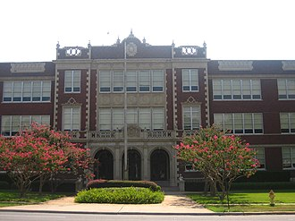 National Register of Historic Places listings in Caddo Parish, Louisiana - Image: C.E. Byrd High School IMG 1585