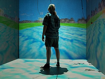 The Cave Automatic Virtual Environment at EVL,...