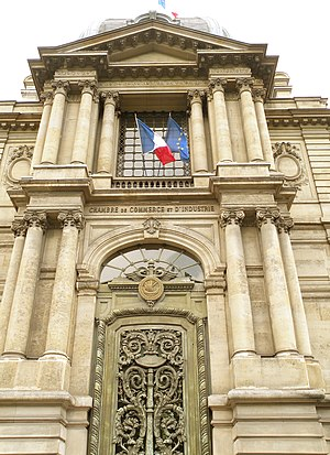 Paris Île-de-France Regional Chamber of Commerce and Industry - Hôtel Potocki, headquarters on the Avenue de Frieldland.