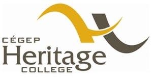 Heritage College (Gatineau) - Image: CEGEP Heritage Logo