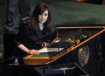 CFK en las NU