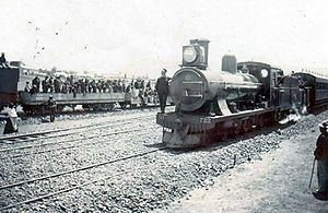 South African type ZC tender - Image: CGR 7th no. 722, SAR 7A no. 1005