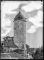 CH-NB - Aubonne, Château, Donjon, vue partielle - Collection Max van Berchem - EAD-7193.tif