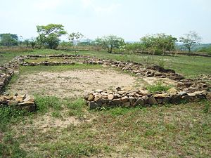 Spanish conquest of El Salvador - Ruins of San Salvador (Ciudad Vieja)