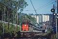 CN 6725 taken from Mount Royal station in Montreal in September 1979 (34182485060).jpg
