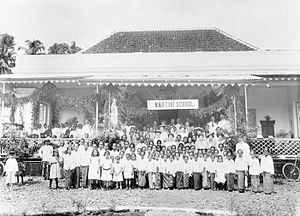 Kartini Schools - Opening of the Katrini School in Buitzenborg  (Bogor) May 1915