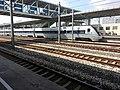 CRH1-138A in Ningbodong Railway Station.jpg