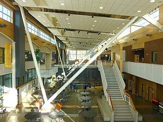 Chief Sealth International High School - Chief Sealth High School Galleria (added 2010)