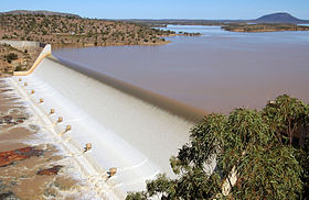 CSIRO ScienceImage 10816 Spillway at the Burdekin Falls Dam.jpg