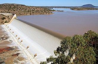 Burdekin Dam - Burdekin Dam, 2009