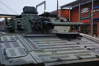Mk44 Bushmaster II - Finnish CV 9030 with Mk44