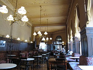 Café Sperl - Café Sperl interior