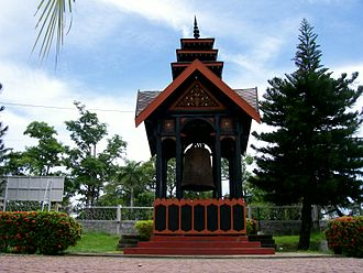 Samudera Pasai Sultanate - Cakra Donya bell was a gift from Zheng He during his voyage to Pasai.