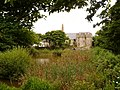 Caldey Island, the old priory from across the pond - geograph.org.uk - 2025930.jpg