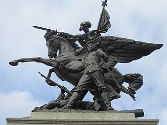 California Volunteers (sculpture) - The monument in 2013