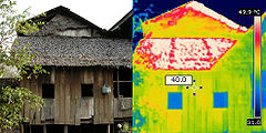 infrared camera house