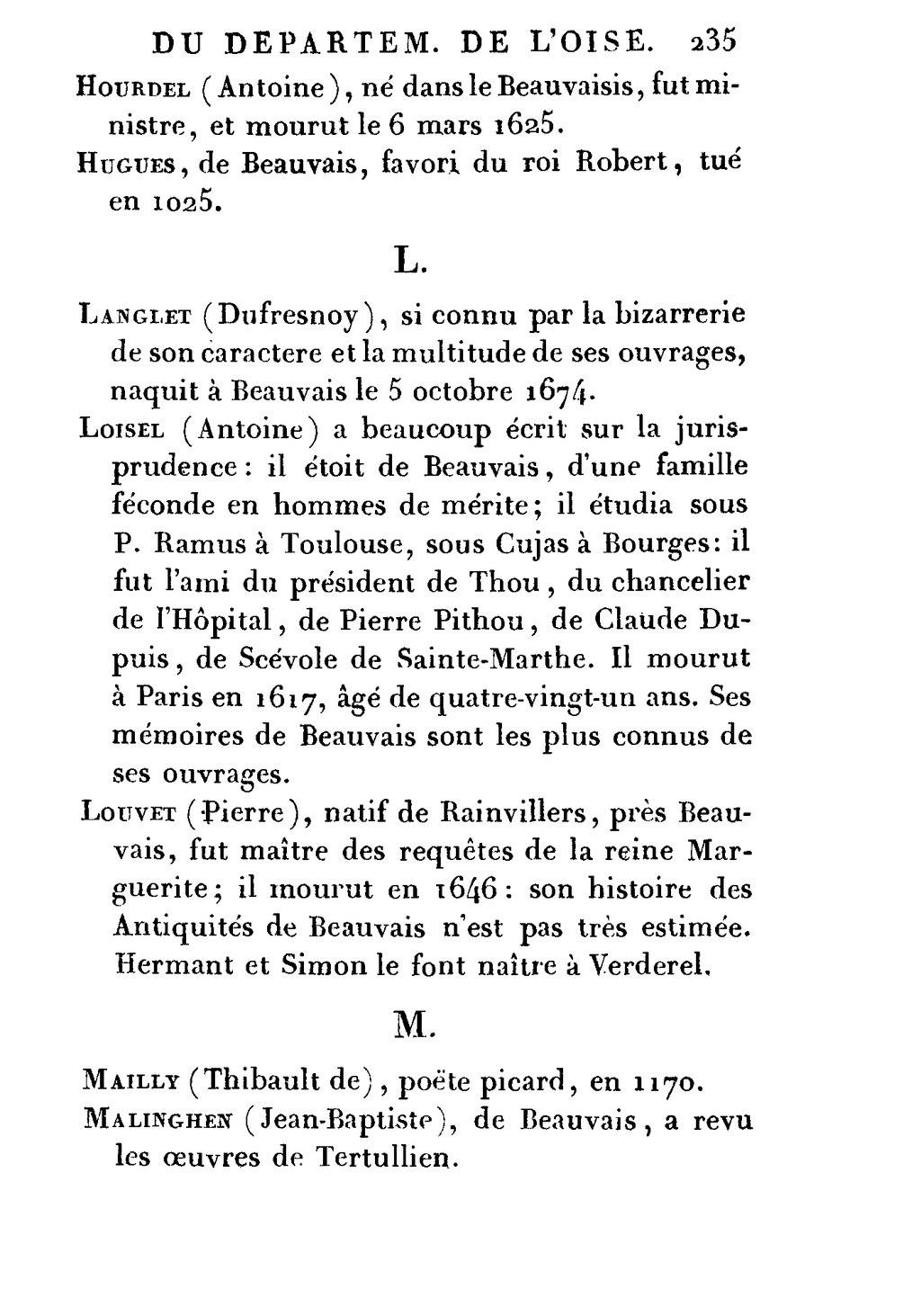 Pagecambry Description Du Département De Loise Tome 2