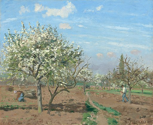 Camille Pissarro, Le verger (The Orchard), 1872
