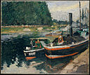 Camille Pissarro Barges at Pontoise The Metropolitan Museum of Art.jpg