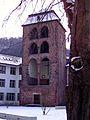 Campus Altstadt Neue Universität Heidelberg Innenhof mit Hexenturm.JPG