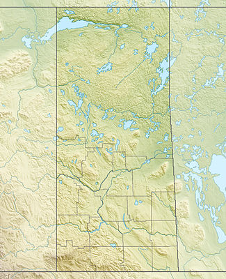 Location map Canada Saskatchewan