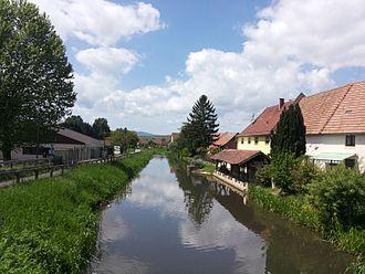 Canal de la Bruche - Canal de La Bruche at Ergersheim