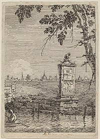 Canaletto, The Little Monument, c. 1735-1746, NGA 779.jpg