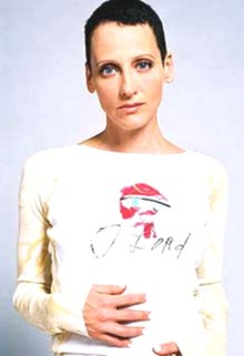 colour portrait photograph of Lori Petty taken in March 2010