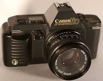 Canon T70 - The Canon T70