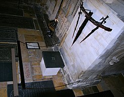 Canterbury cathedral - the place where Thomas Becket was murdered 1170.jpg
