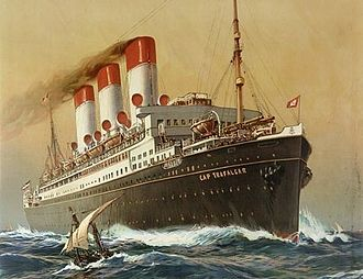 SMS Cap Trafalgar - Image: Cap Trafalgar 1899