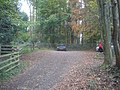 Car park at the start of the Sculpture Trail - geograph.org.uk - 1136076.jpg