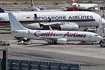 Caribbean Airlines, 9Y-SXM, Boeing 737-8HO (19558230854).jpg