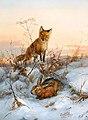 Carl Gerber - Fox and Hare.jpg