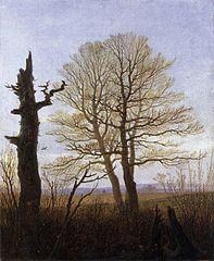 Landschaft im Vorfrühling