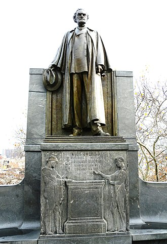 Morningside Park (New York City) - The Carl Schurz Monument